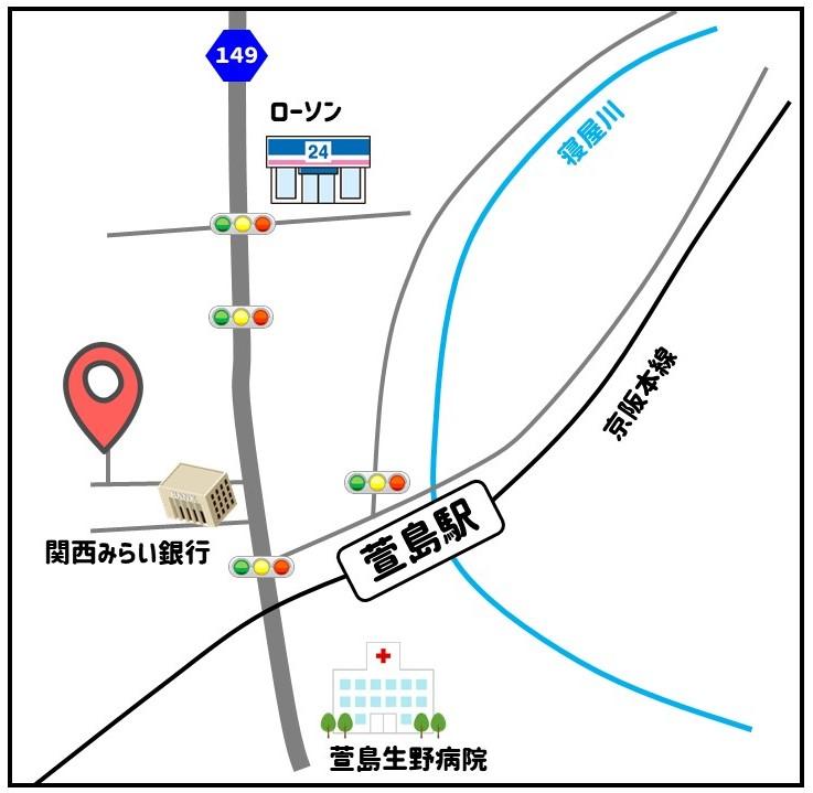 萱島MAP
